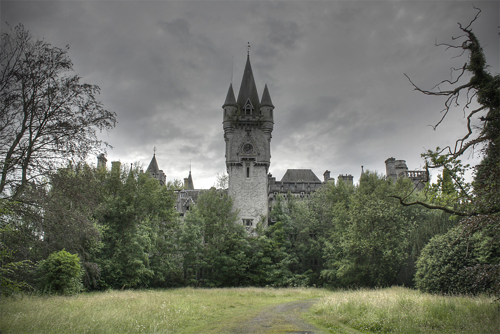 Photograph the abandoned castle deep in the forest by Roman Jott on 500px