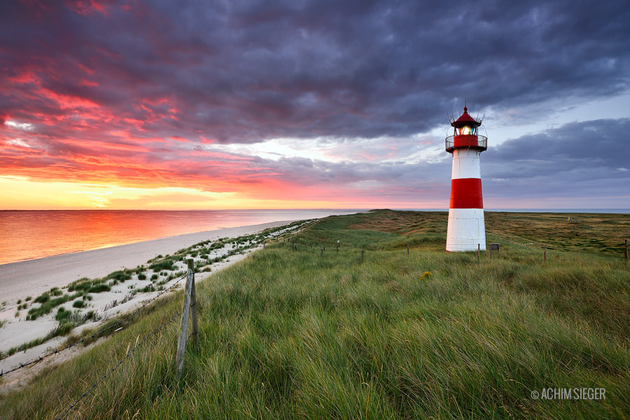Photograph Lighthouse List East / Sylt by Achim Sieger on 500px