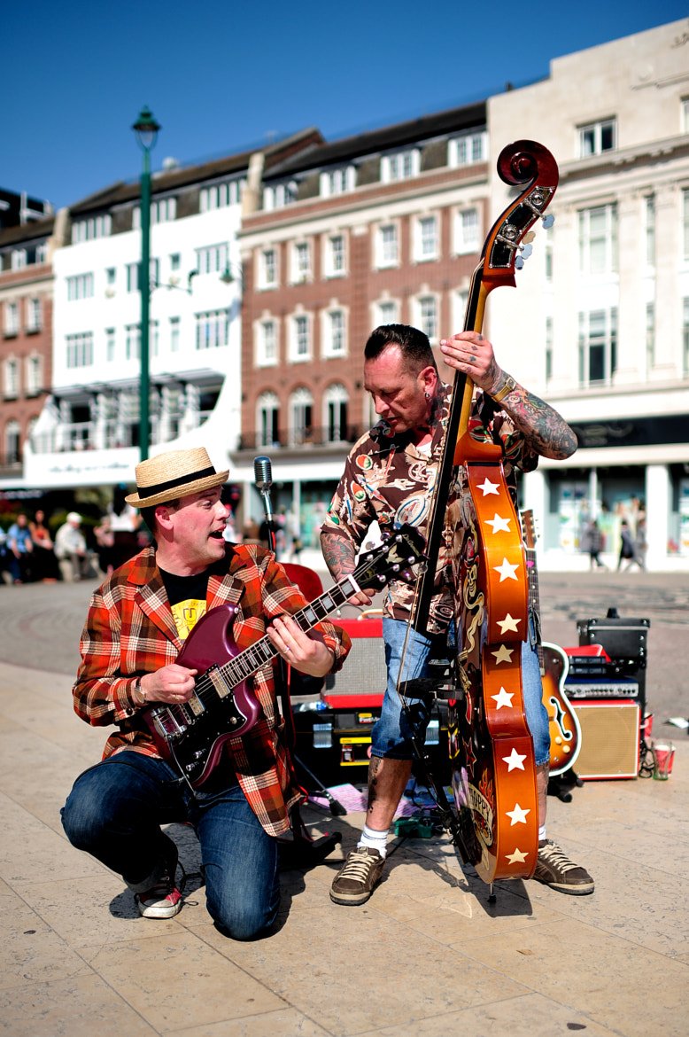 Photograph Live music on street. by Ethan L on 500px