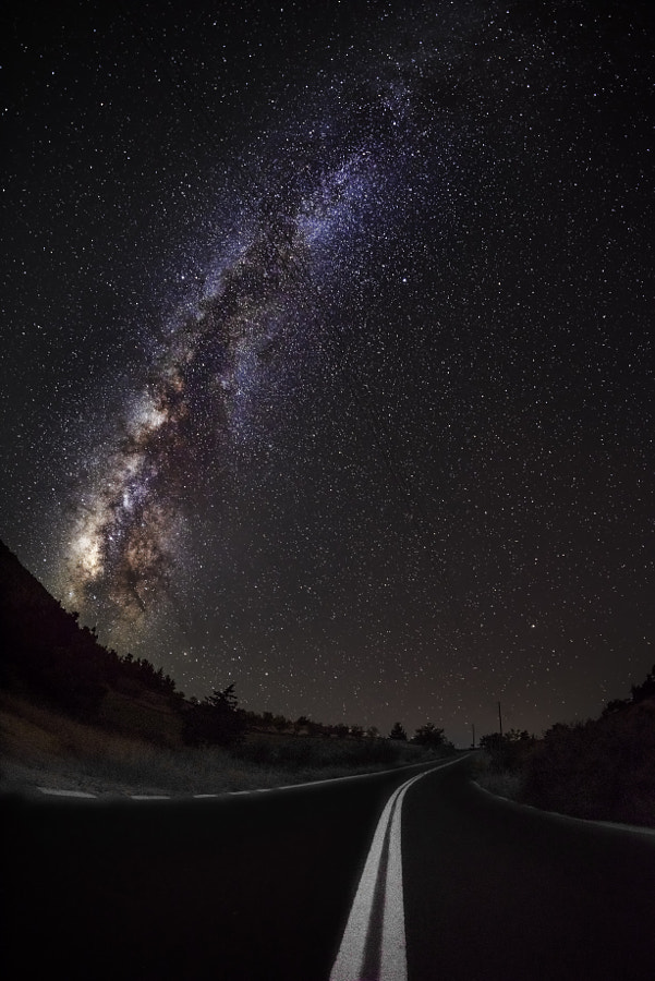Road to the Milky Way by panagiotis laoudikos on 500px.com