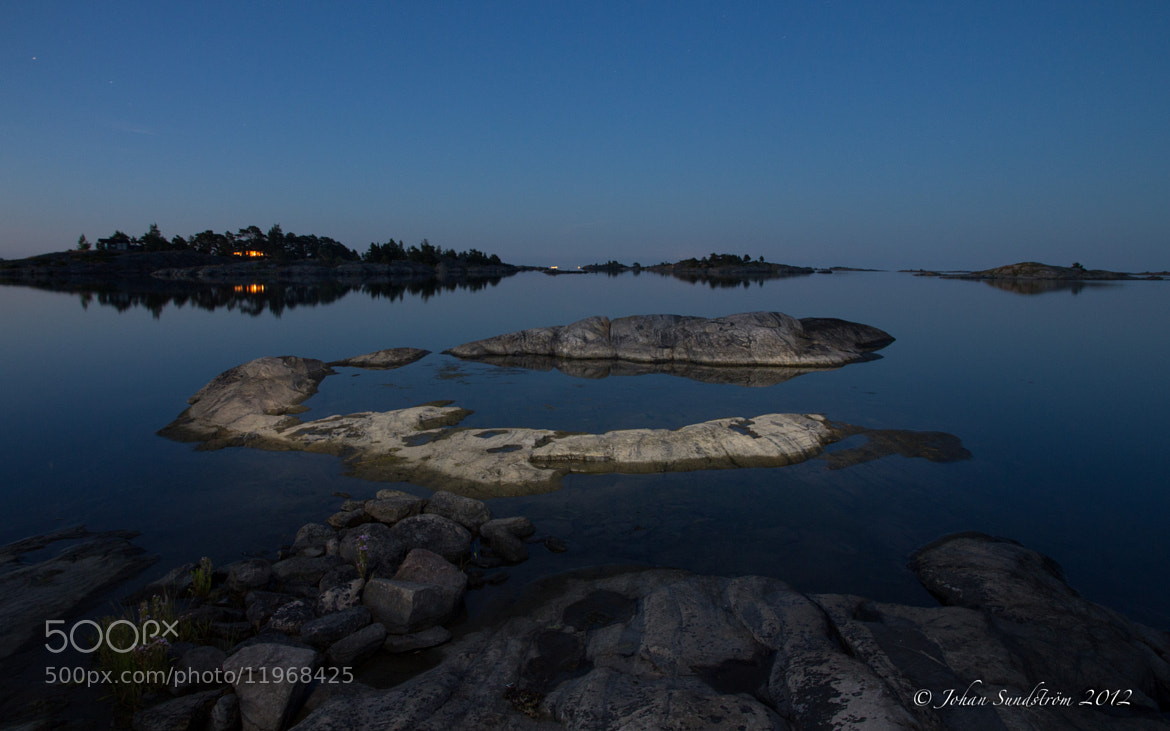 Photograph The Finnish archipelago by night by Johan Sundström on 500px