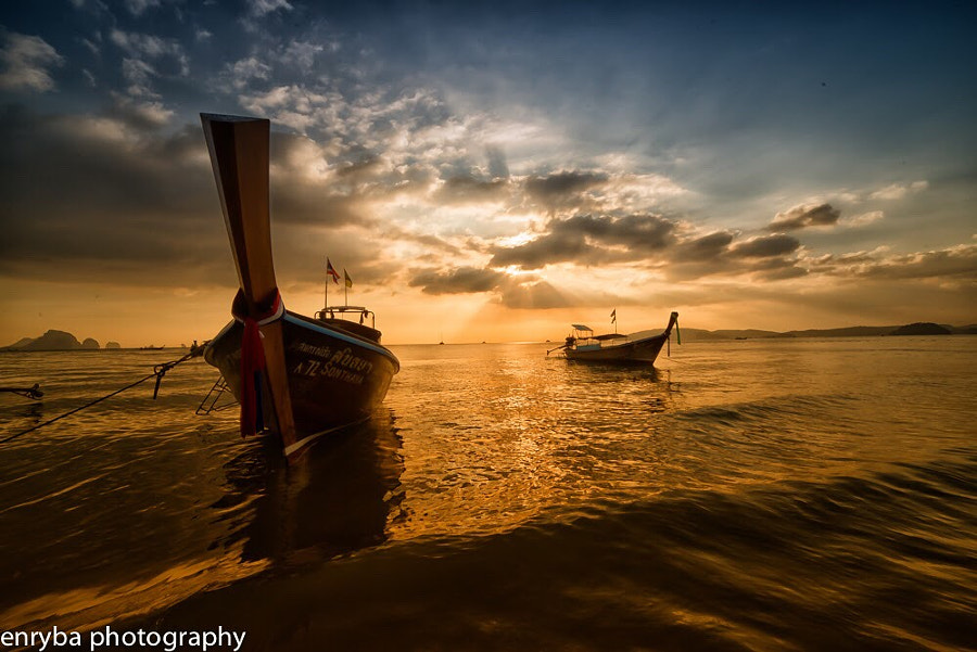 Krabi sunset by enrico barletta on 500px.com