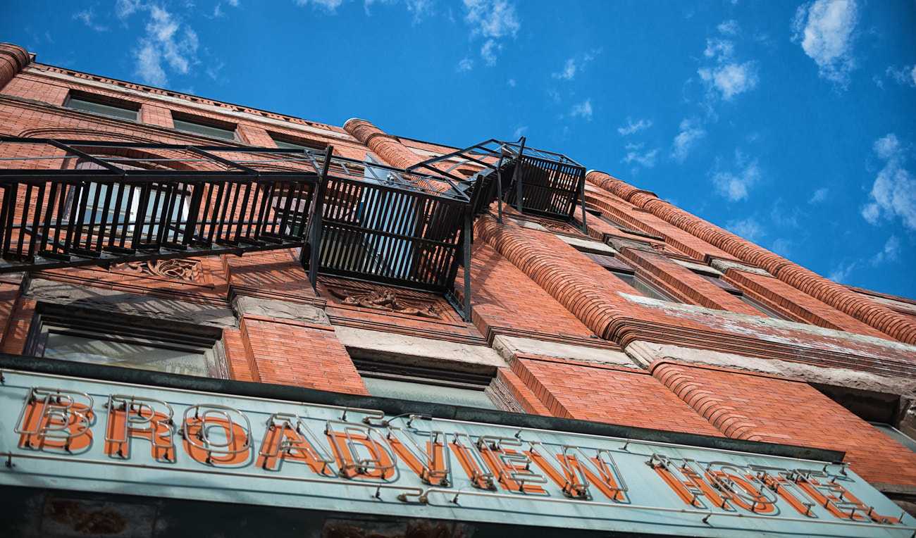 Photograph Broadview Hotel  by Frank Lemire on 500px