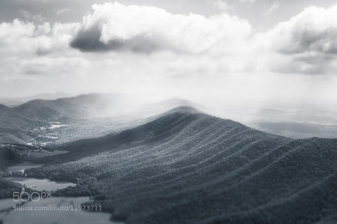 Photograph The Mountains of Virginia by Michael Lanzetta on 500px
