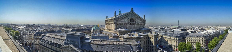 Photograph Paris Panorama by Sascha Reichhardt on 500px