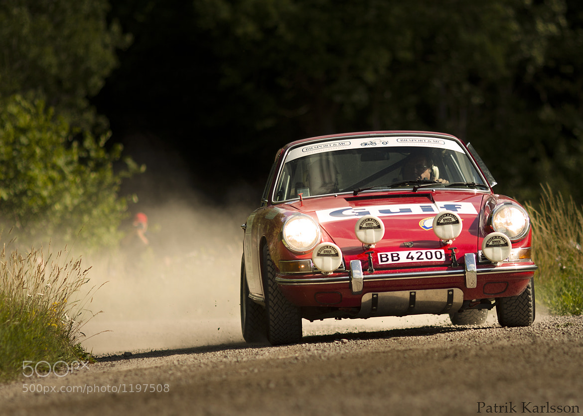 Photograph Rally Porsche by Patrik  Karlsson on 500px