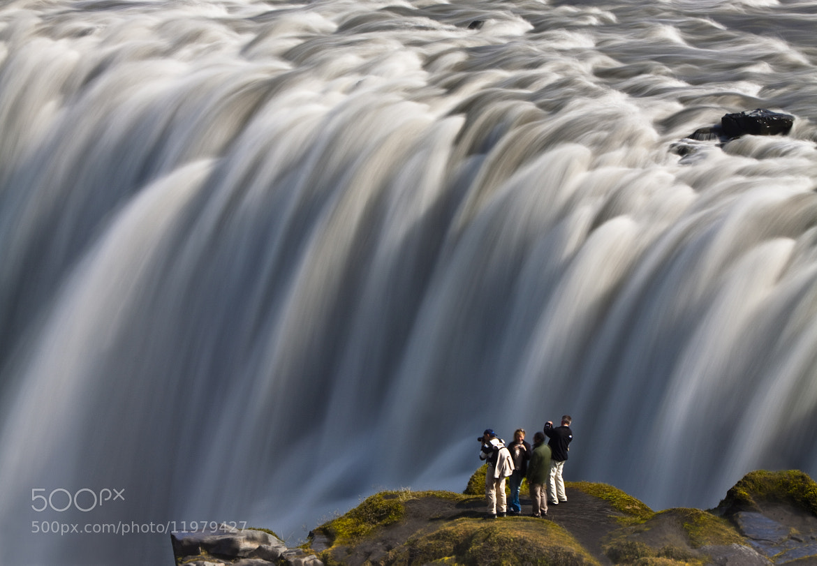 Photograph Facing the power of Dettifoss by Jon Hilmarsson on 500px