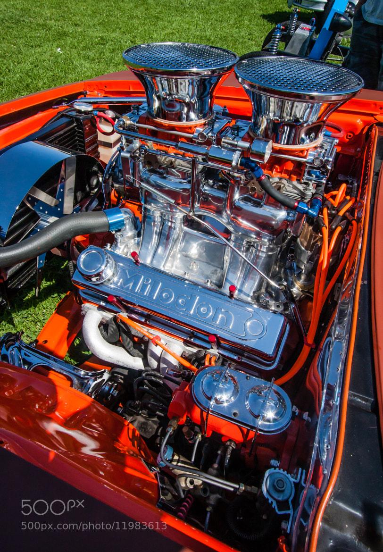 Photograph Orange Hot Rod by Jason Wehmhoener on 500px