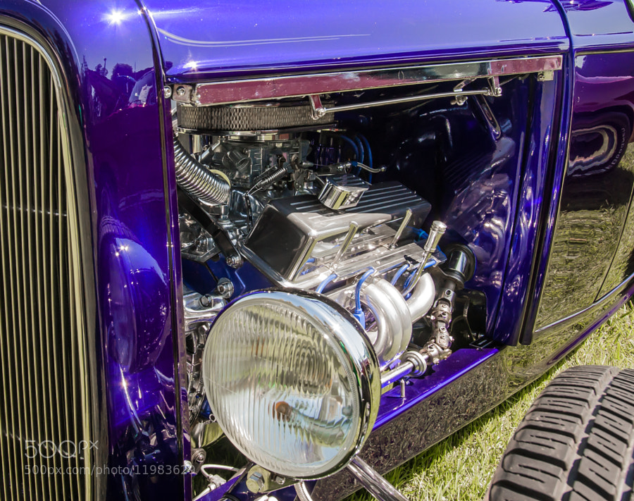 Photograph Purple Hot Rod by Jason Wehmhoener on 500px