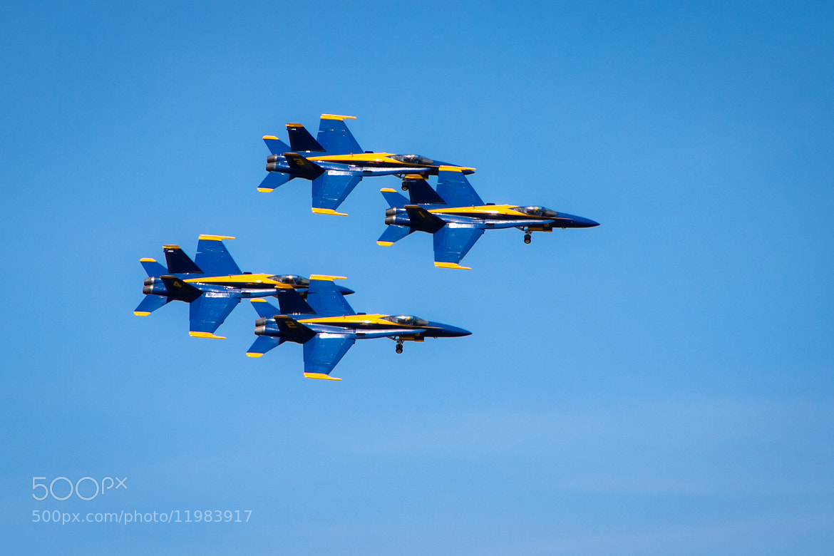 Photograph Blue Angels by Brian Buckler on 500px