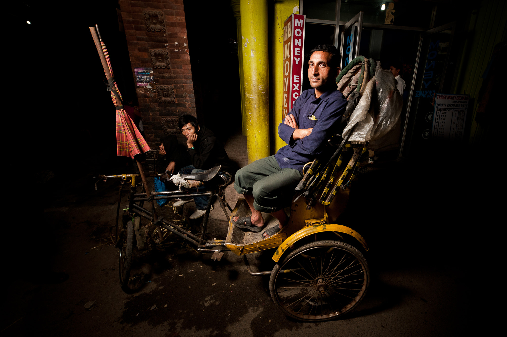 Photograph Rickshaw drivers in Nepal by Brian Hirschy on 500px
