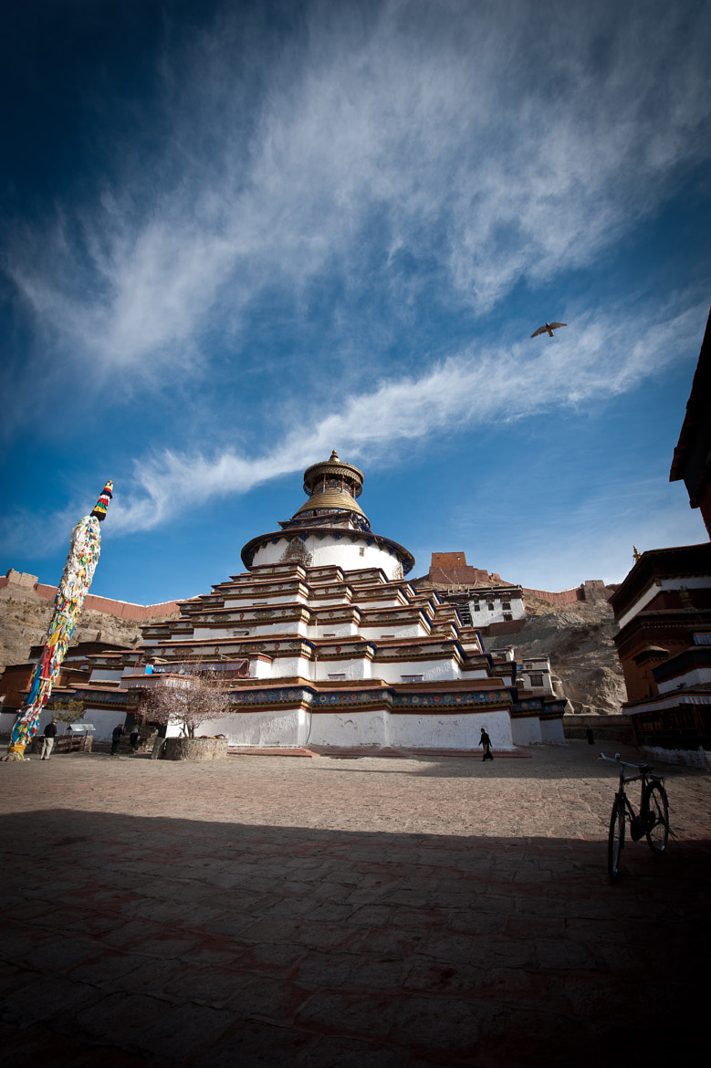 Photograph The famous Gyantse KumBum by Brian Hirschy on 500px