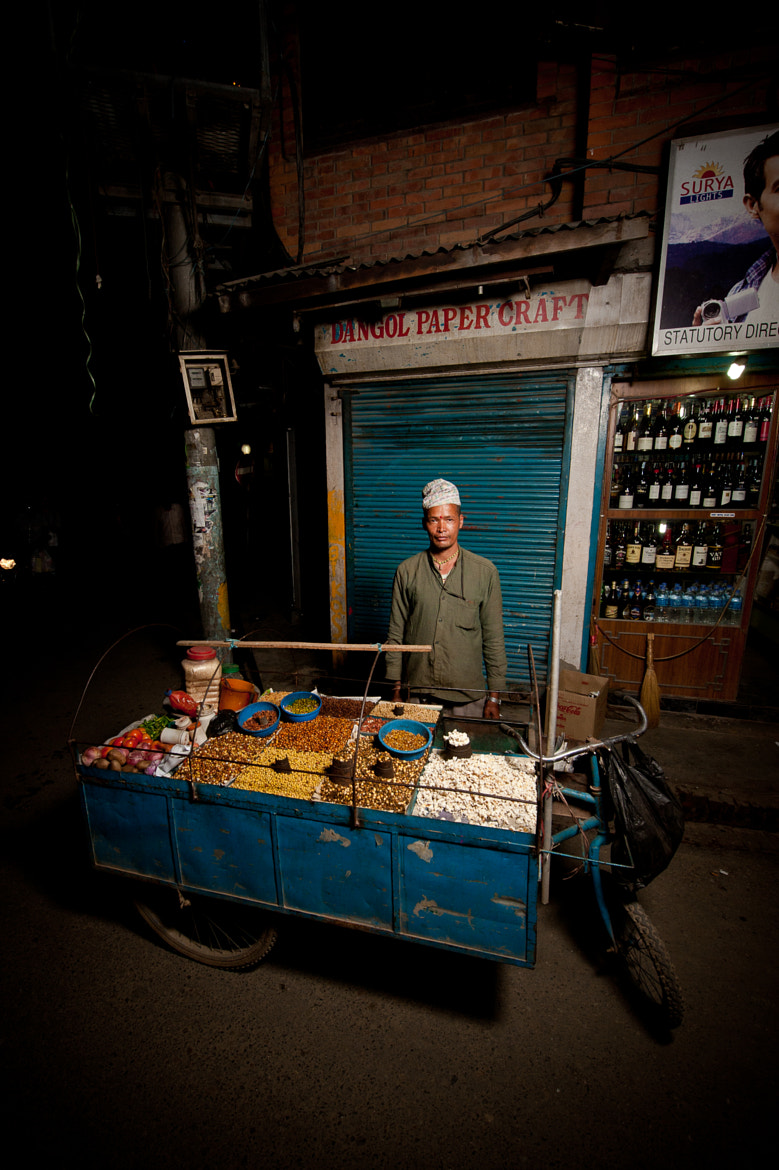 Photograph Thamel street vendor by Brian Hirschy on 500px