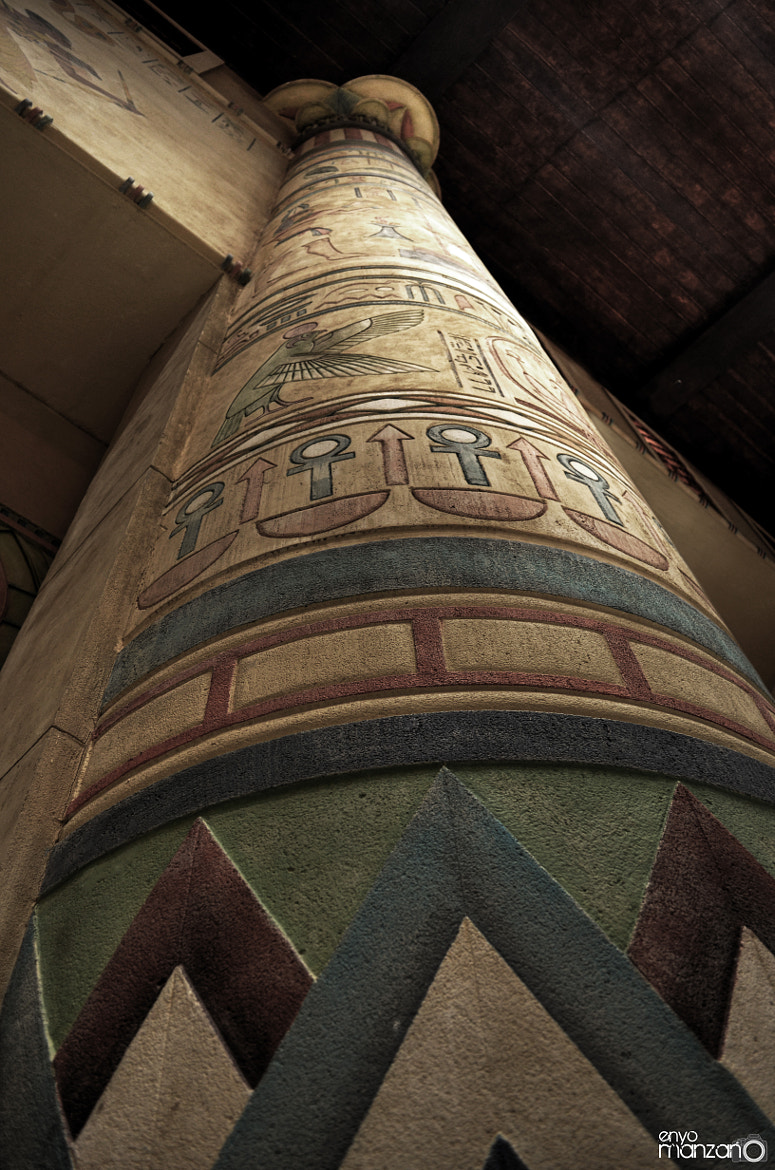 Photograph Egyptian Pillar by Ernie Manzano on 500px