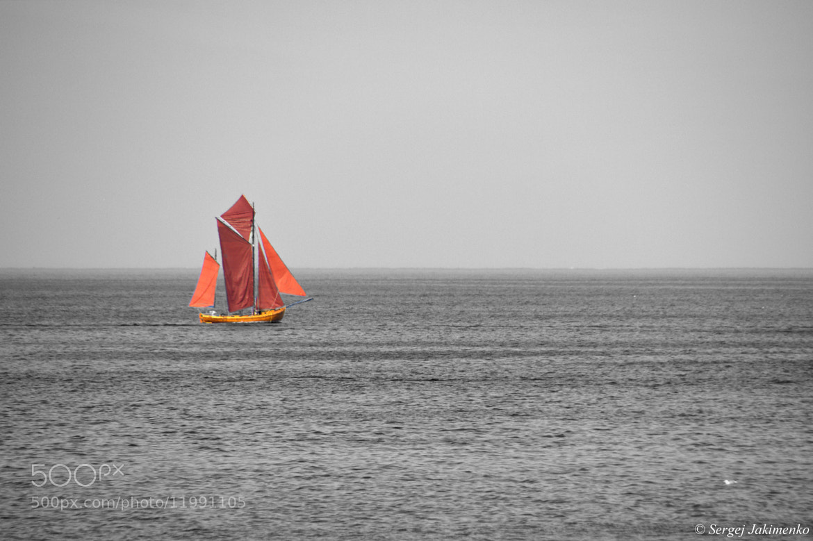 Photograph red sails by Sergej Jakimenko on 500px