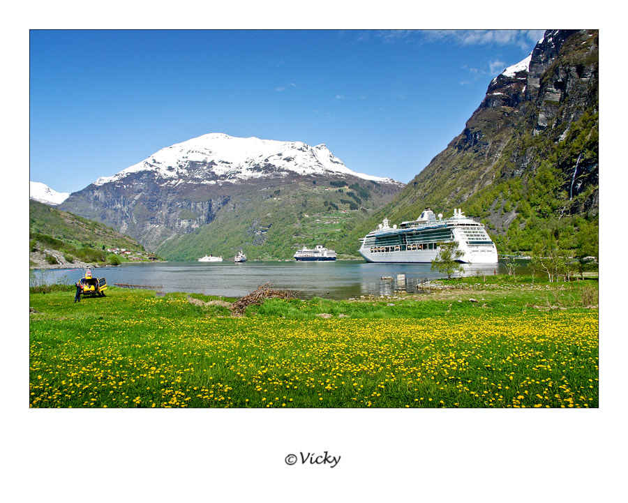 Photograph Geiranger, Norway by Vicky Dens on 500px