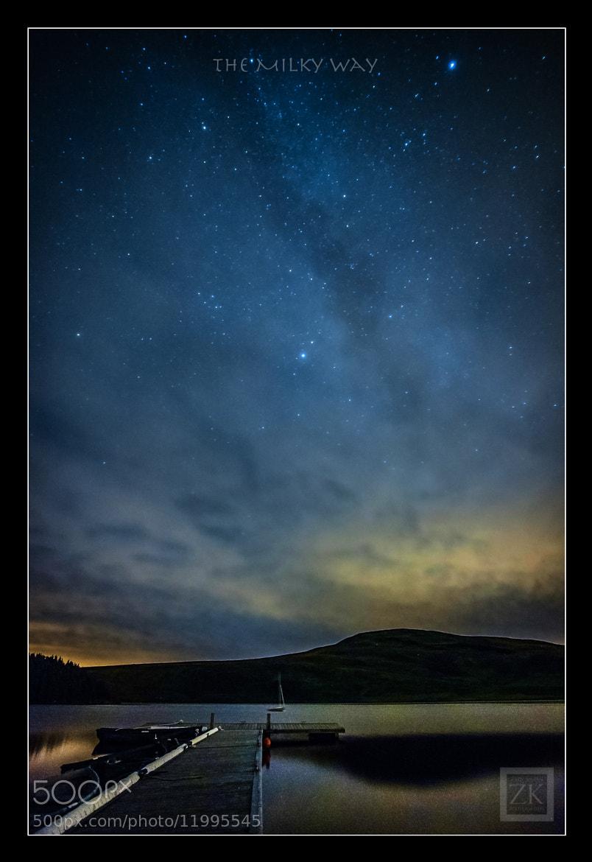 Photograph The Milky Way by Zain Kapasi on 500px