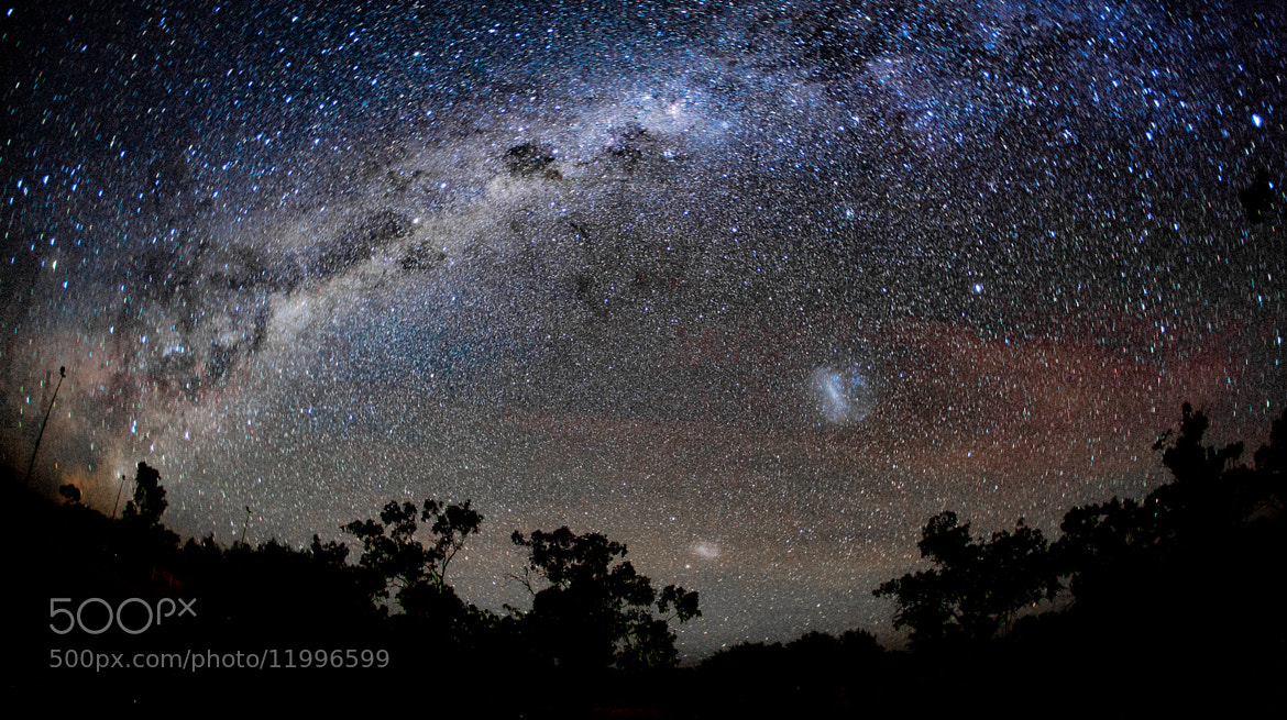 Photograph Milky Way Rising by Jimmy - on 500px