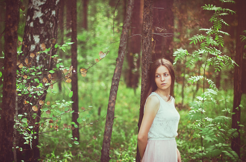 Photograph In depth of forest by Ilia Youdin on 500px