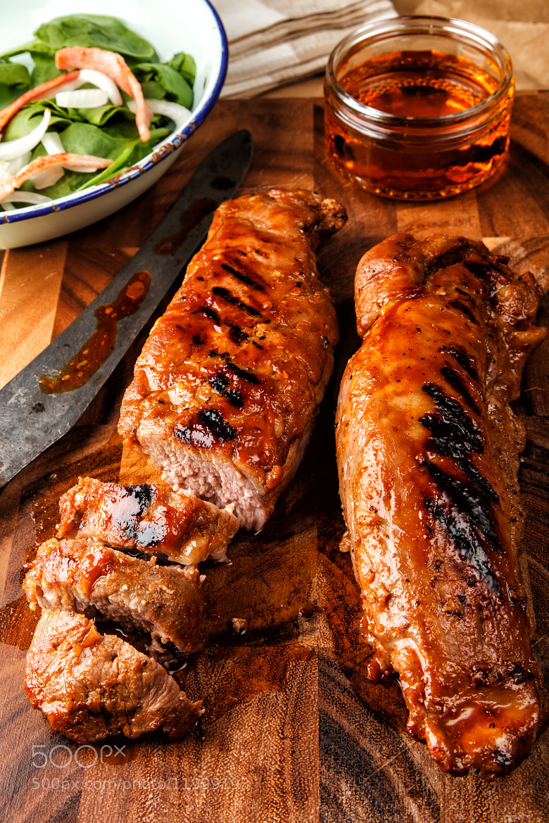 Photograph Pork loin with maple paprika glaze by Innershadows Photography on 500px