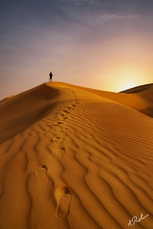 The Arabian Sunset iii by Rustam Azmi on 500px.com