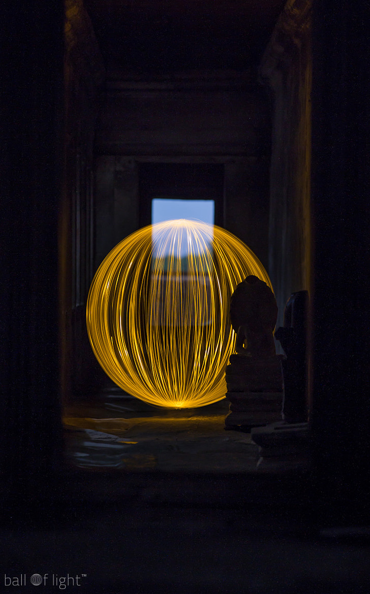 Photograph Ball of LIght Cambodia - Patience by Denis Smith on 500px