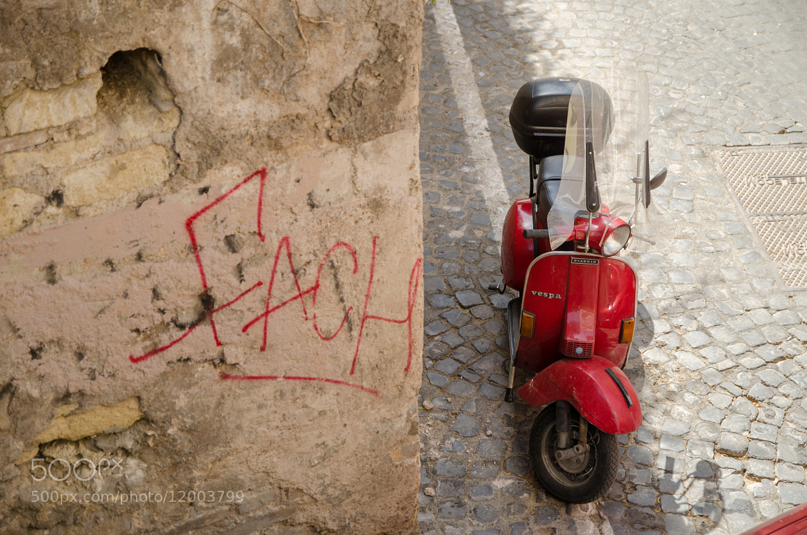 Photograph Vespa, Rome, Italie by Nicolas Courtade on 500px