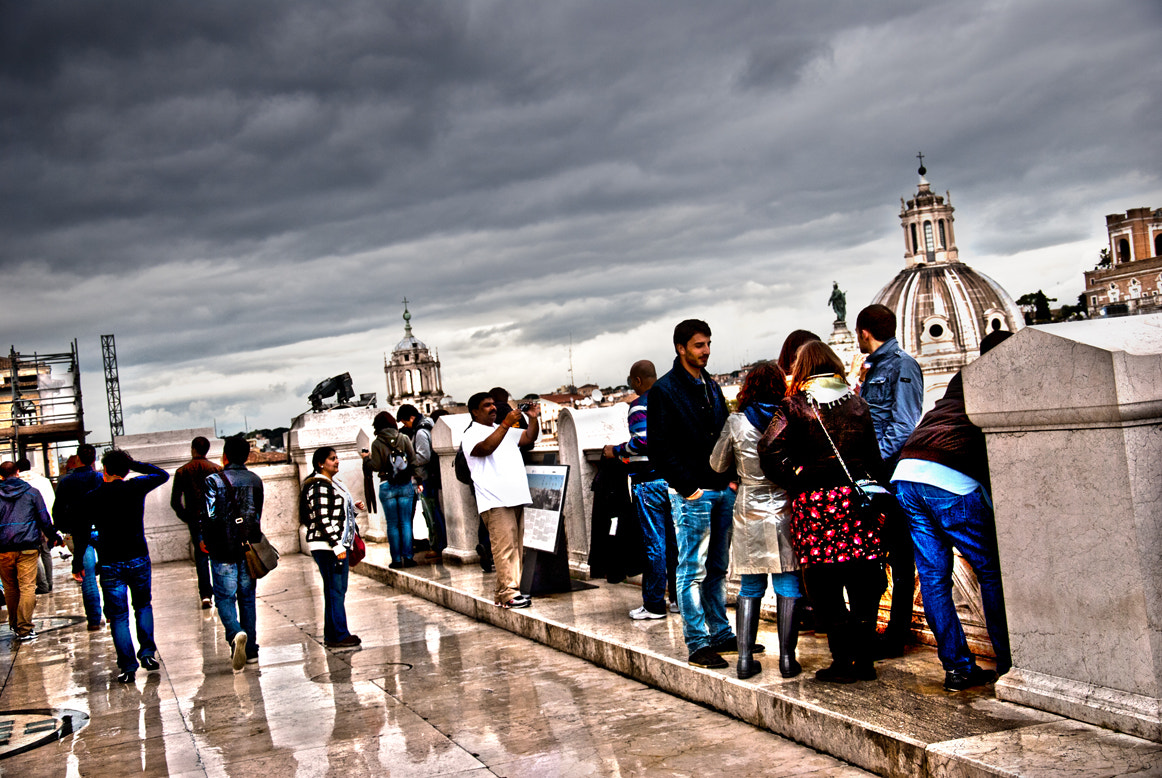 Photograph Bad weather in Rome by Francesco Zappalà on 500px