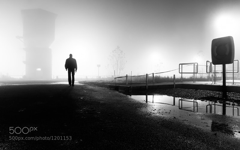 Photograph In Dark and Mist by Tim Corbeel on 500px