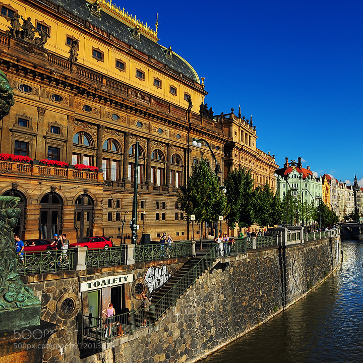 Photograph Narodni Divadlo , Prague by Edgar Barany on 500px