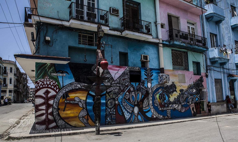 Photograph Havana Wallpaintings by Daniel Wewerka on 500px
