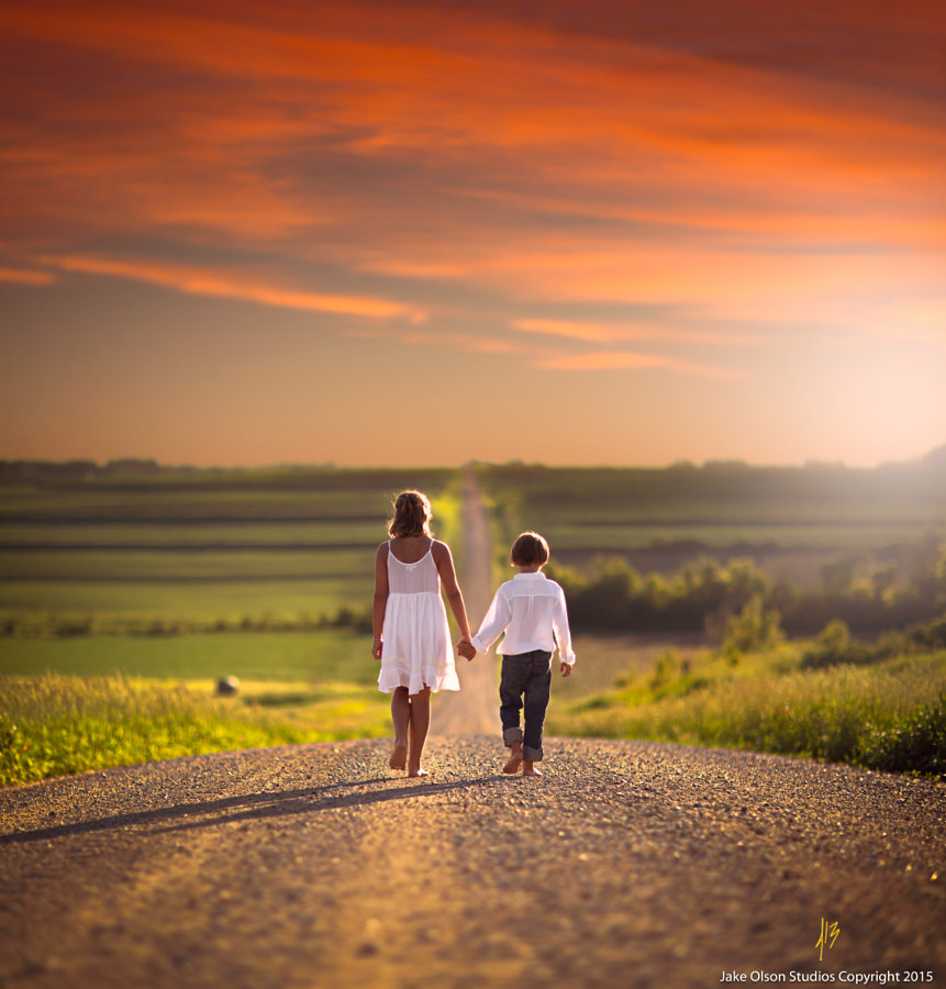 Photograph At Dusk by Jake Olson Studios on 500px