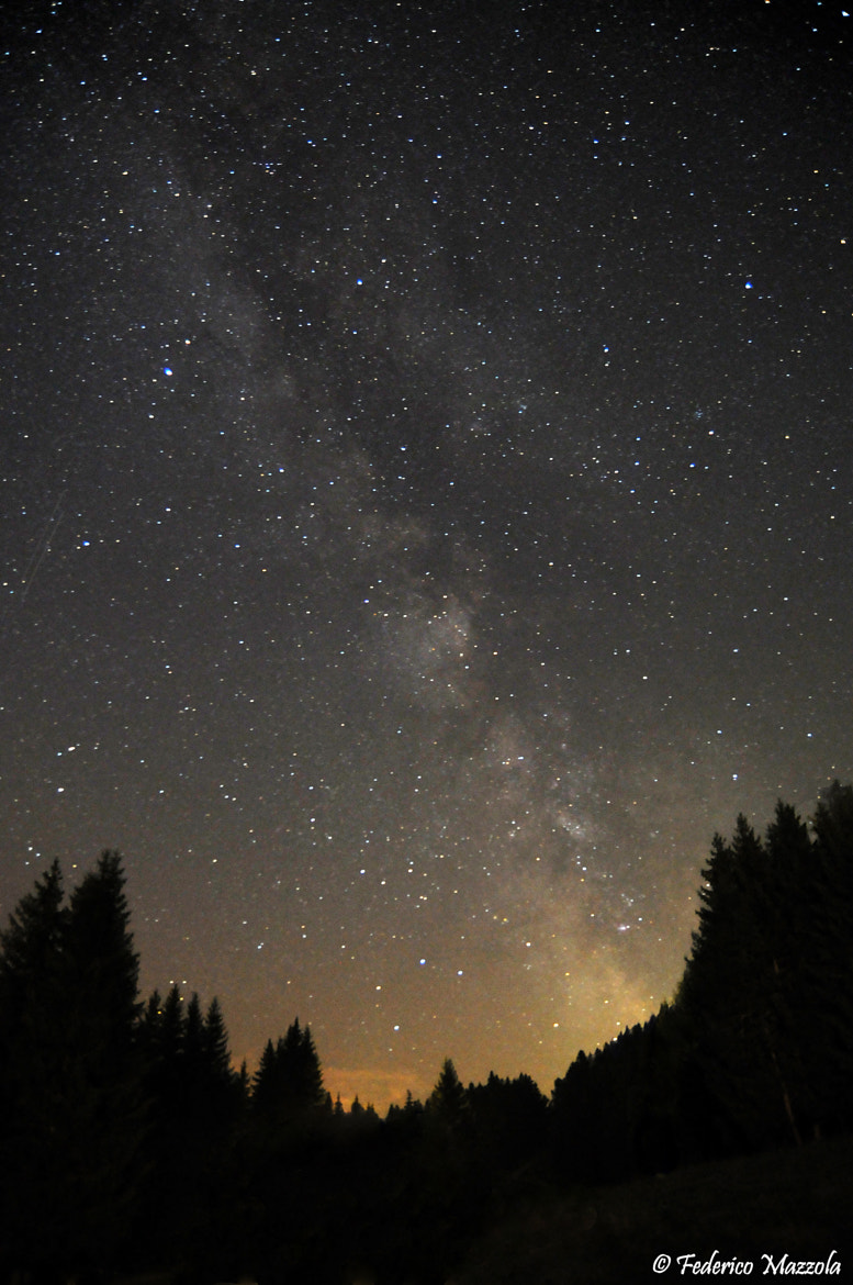 Photograph Milky Way, Dolomites by Federico Mazzola on 500px