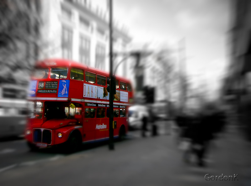 Photograph London Bus by Gordonk -Photography on 500px