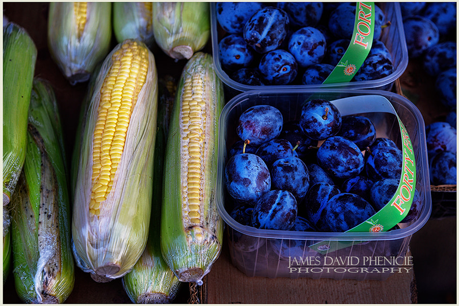 Corn and Plums