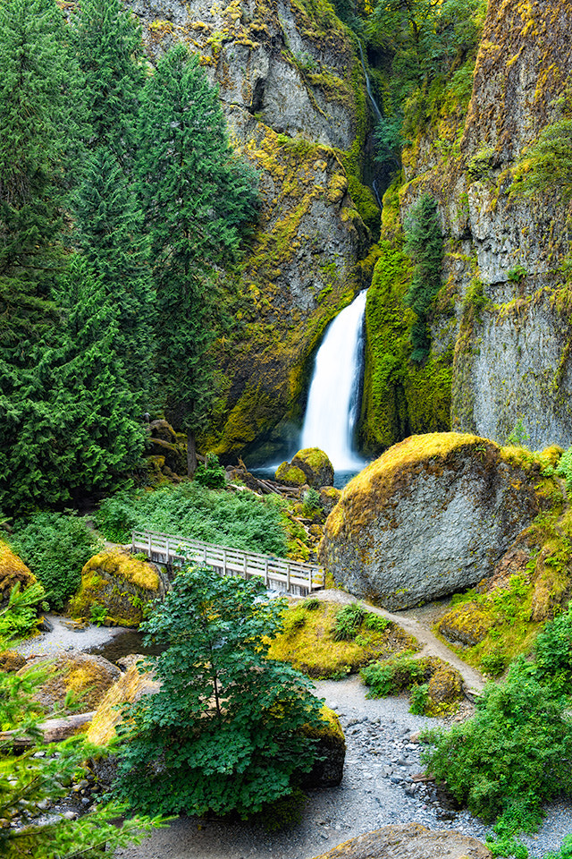 Photograph Wahclella Falls, Summer by Ben Hearthside on 500px