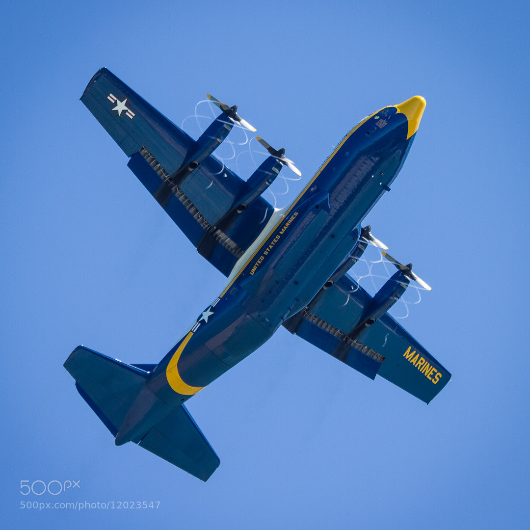 Photograph Blue Angels, The Bomber by Rob Kistner on 500px