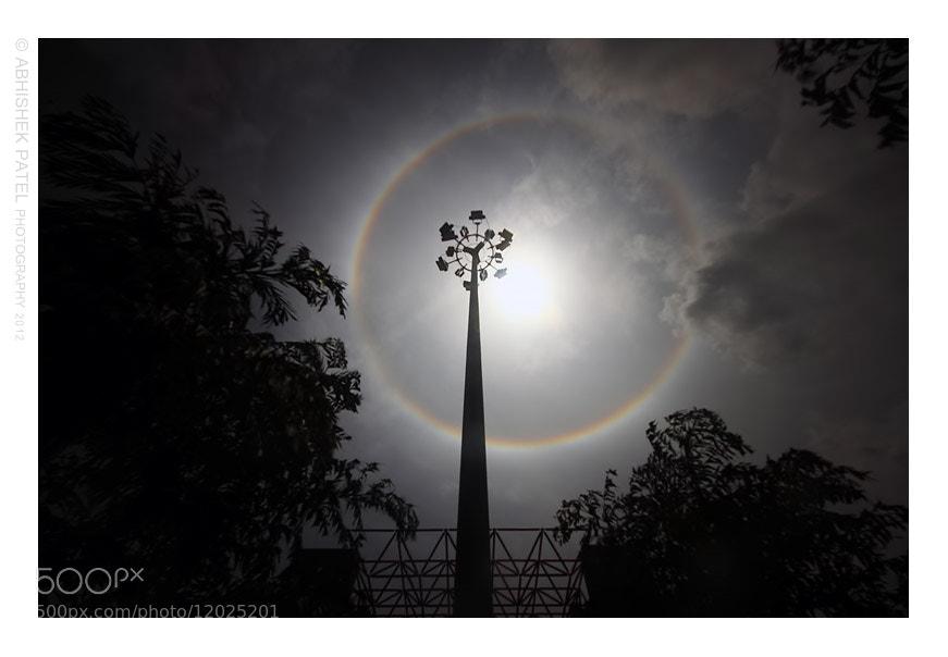 "Photograph A Year full of Rarity | Halo ring aka ""Sun Dog"" | Kargil Chowk, Surat. by Abhishek Patel on 500px"