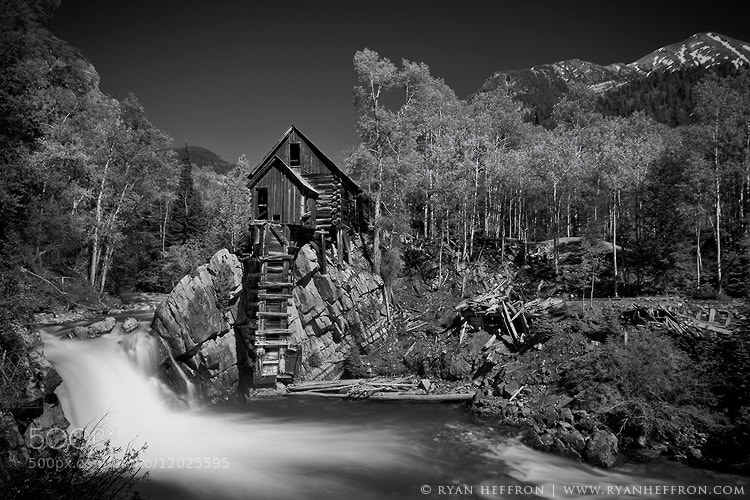 Photograph The Crystal Mill by Ryan Heffron on 500px