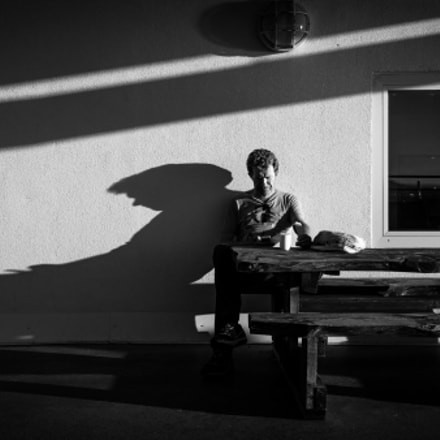 The other me - Ålesund, Norway - Black and white street photography