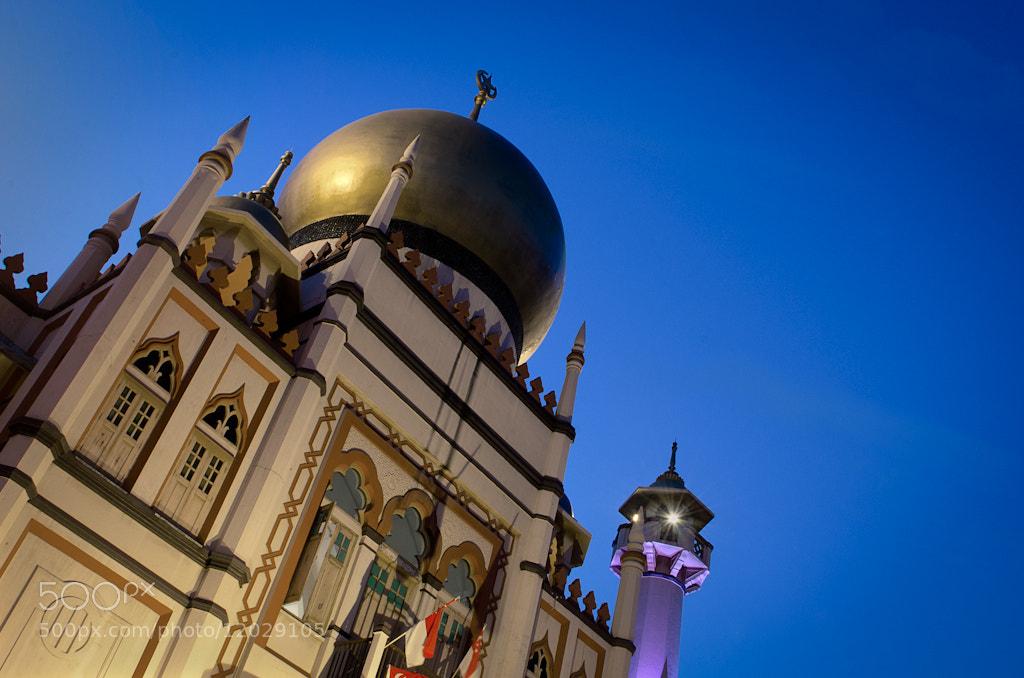 Photograph Sultan Mosque Singapore by Michael  De Guzman on 500px