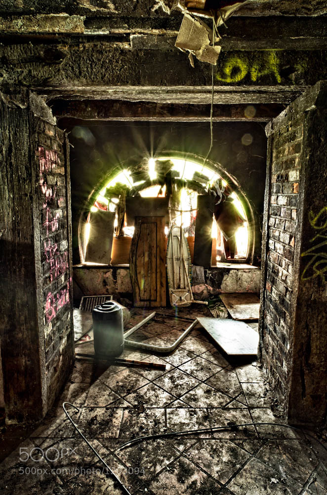 Photograph Dereliction III - The Portal by Lawrence Wheeler on 500px