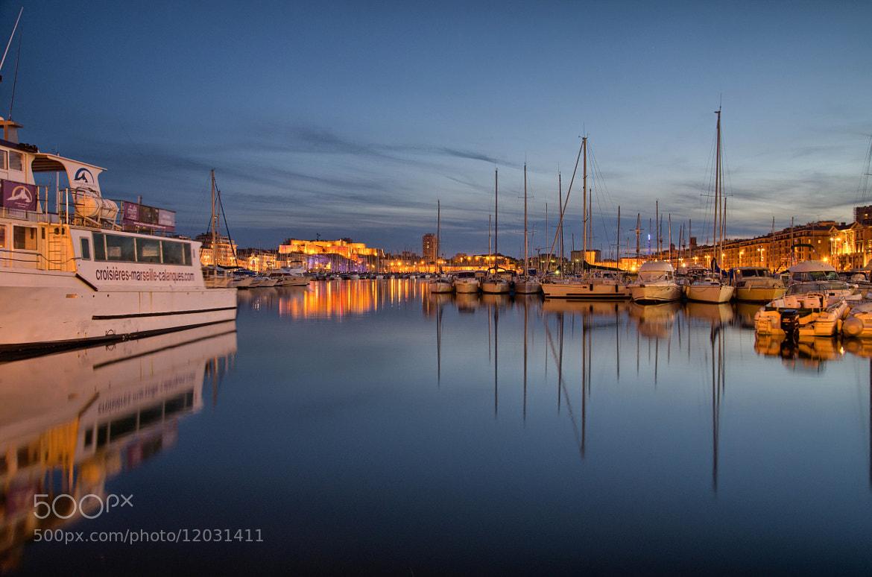 Photograph Le Vieux-Port by Fabien  Moraldo on 500px