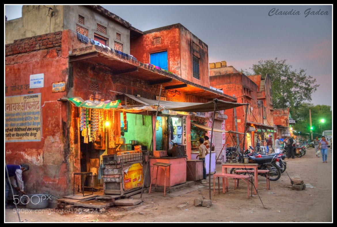 Photograph Jaipur in the evening by Claudia Gadea on 500px