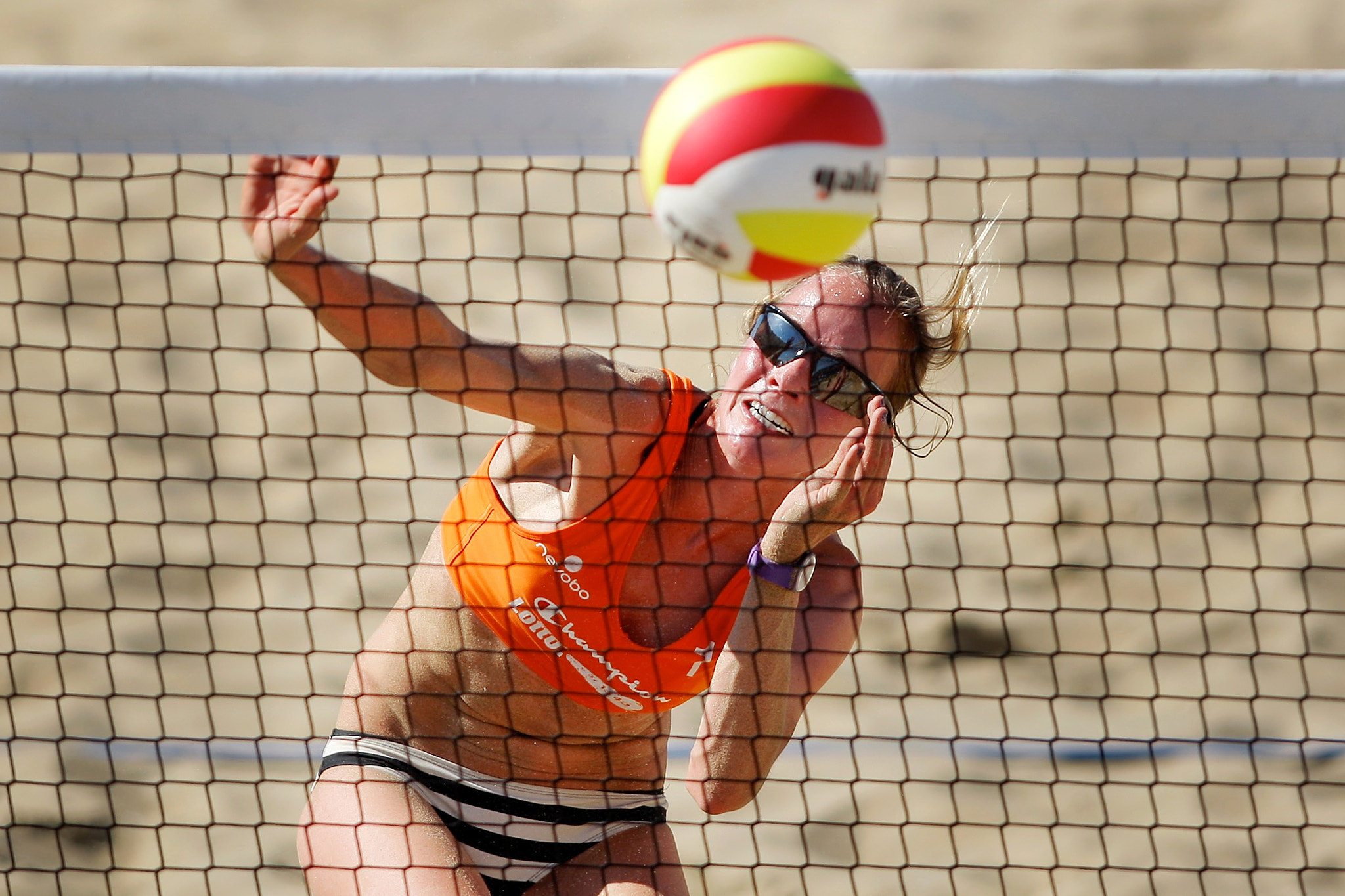Photograph Beach Volleyball 2012 by Kay in 't Veen on 500px