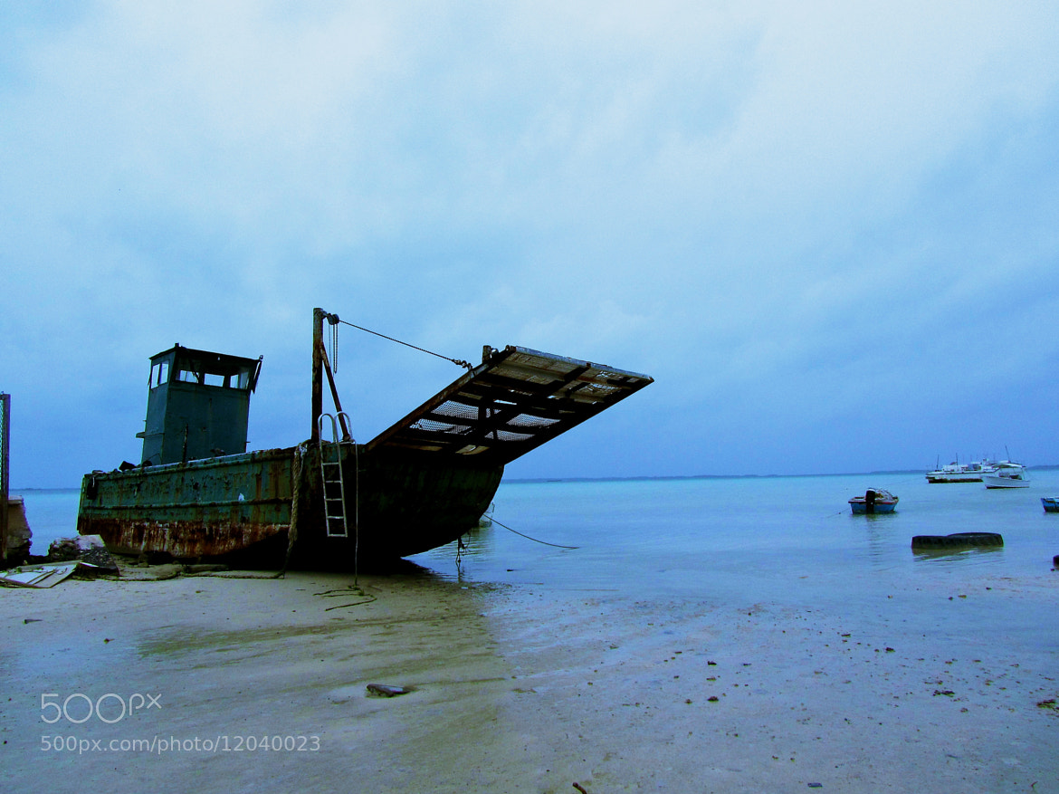 Photograph Fishing Boat, Harbour Island by Audrey H on 500px