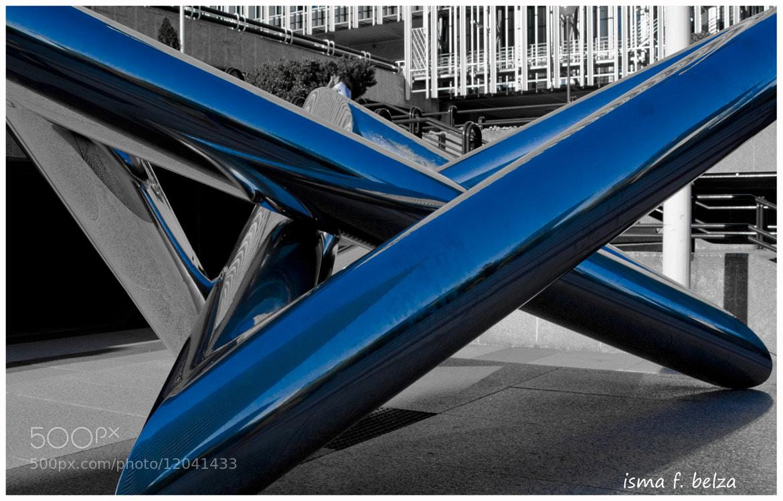Photograph blue star by isma belza on 500px