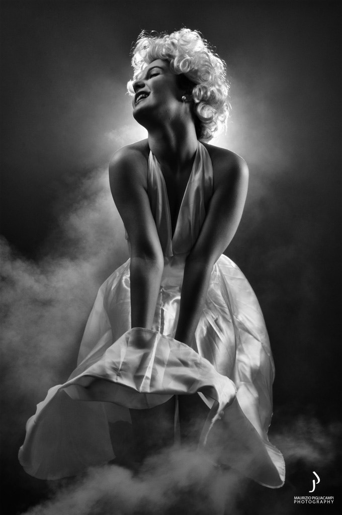 Photograph  Marilyn Monroe by Maurizio Pigliacampi Ph on 500px