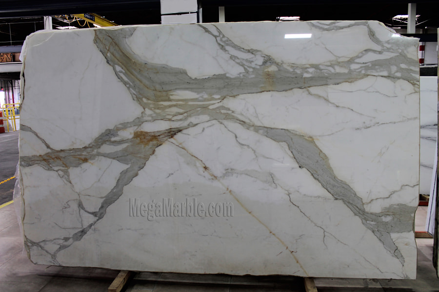 Calacatta Gold White Marble Slabs
