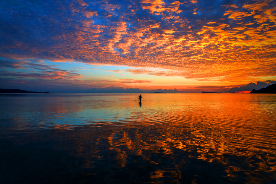Photograph Burning sky 2 by Taisen Lin on 500px